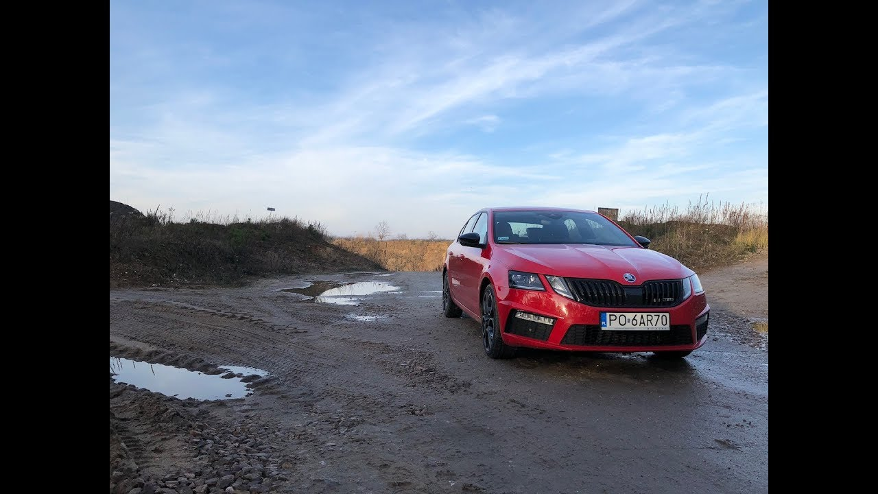 Skoda Octavia RS 245 test PL Pertyn ględzi