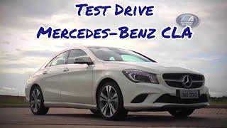 Motores E AÇÃO - Test Drive Mercedes-Benz CLA