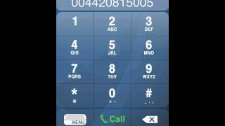 How to use iPhone Mobile Dialer from iVoipe