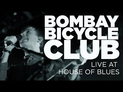 Front Row Boston | Bombay Bicycle Club – Live at House of Bl