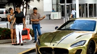 "GOLD DIGGER Prank: Gold Maserati ""I Can Take Your Girl"" Part 1"