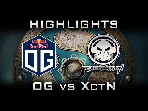 OG vs Execration TI7 Highlights The International 2017 Dota 2