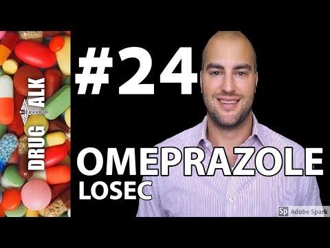 OMEPRAZOLE (LOSEC) - PHARMACIST REVIEW - #24