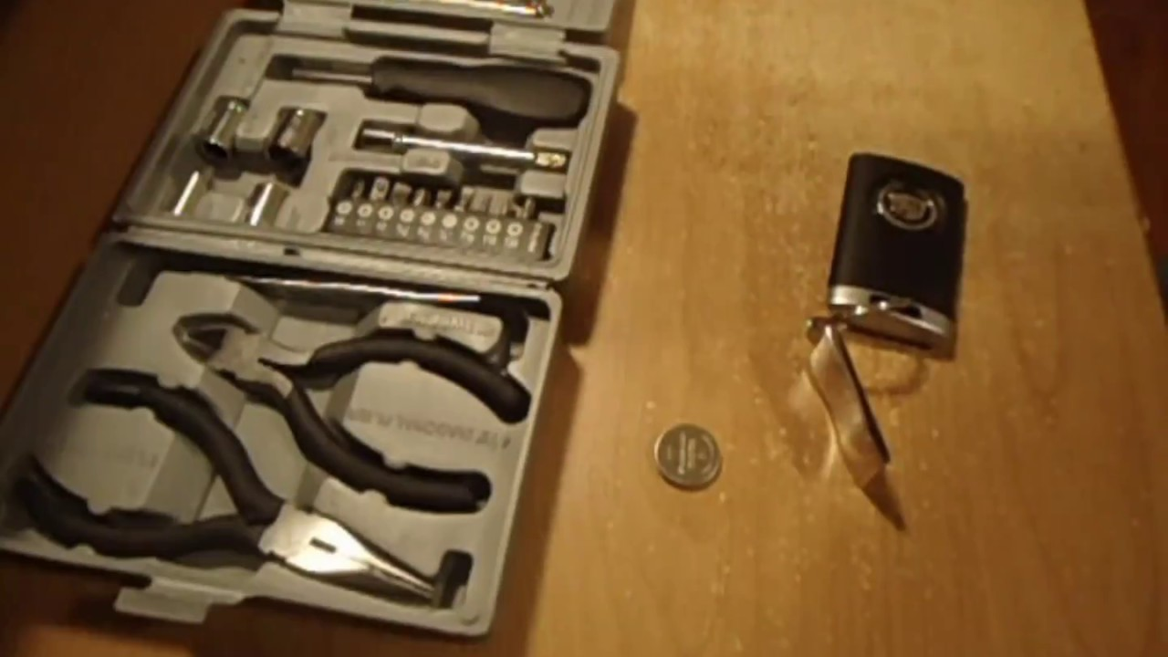 How To Change A Cadillac Key Battery