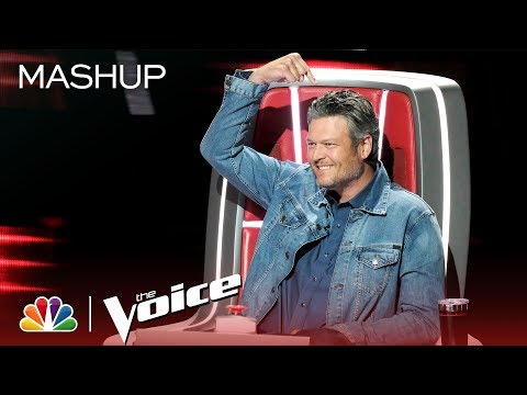 Blake Shelton: Pointing Fingers Since Season 1 - The Voice 2019 (Mashup) Mp3
