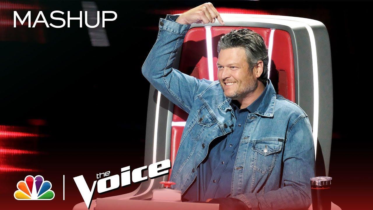 Blake Shelton: Pointing Fingers Since Season 1 - The Voice 2019 (Mashup)