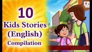 10 Best English Stories For Kids | Stories For Grade 1 | Story Time | Periwinkle