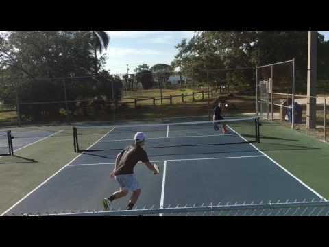 5.0 Mens Singles Practice - Kyle Yates & Frank Anthony Davis