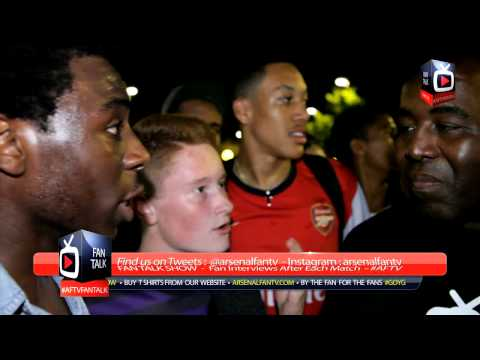 Arsenal FC Fans at The Emirates Ecstatic with Mesut Ozil Signing - ArsenalFanTV.com