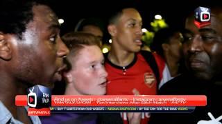 Arsenal FC Fans at The Emirates Ecstatic with Mesut Ozil Signing  ArsenalFanTV.com