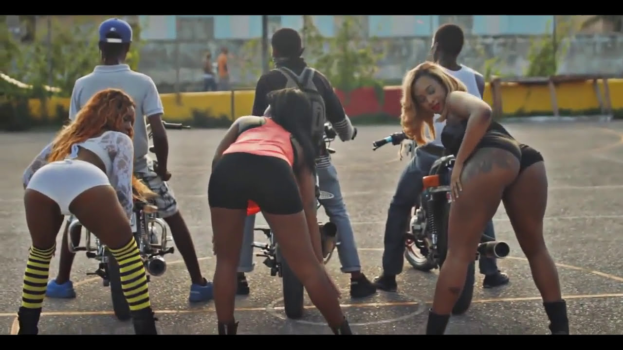 Charly black bike back official music video dancehall - Pictures of chicks on bikes ...