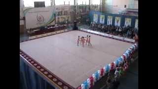 Худ. гимнастика. Групповое упражнение 2003-2004 г.р. БП