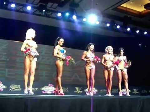Fitness America 2011, Las Vegas Nevada,  Masters Class Top 5