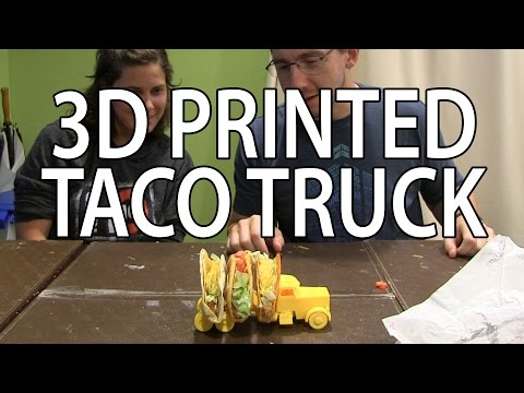 3D Printing: Taco Truck on the Zortrax m200 3D Printer