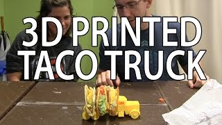 3D Printing: Taco Truck on the Zortrax m200 3D Printer(, 2016-08-20T16:19:16.000Z)