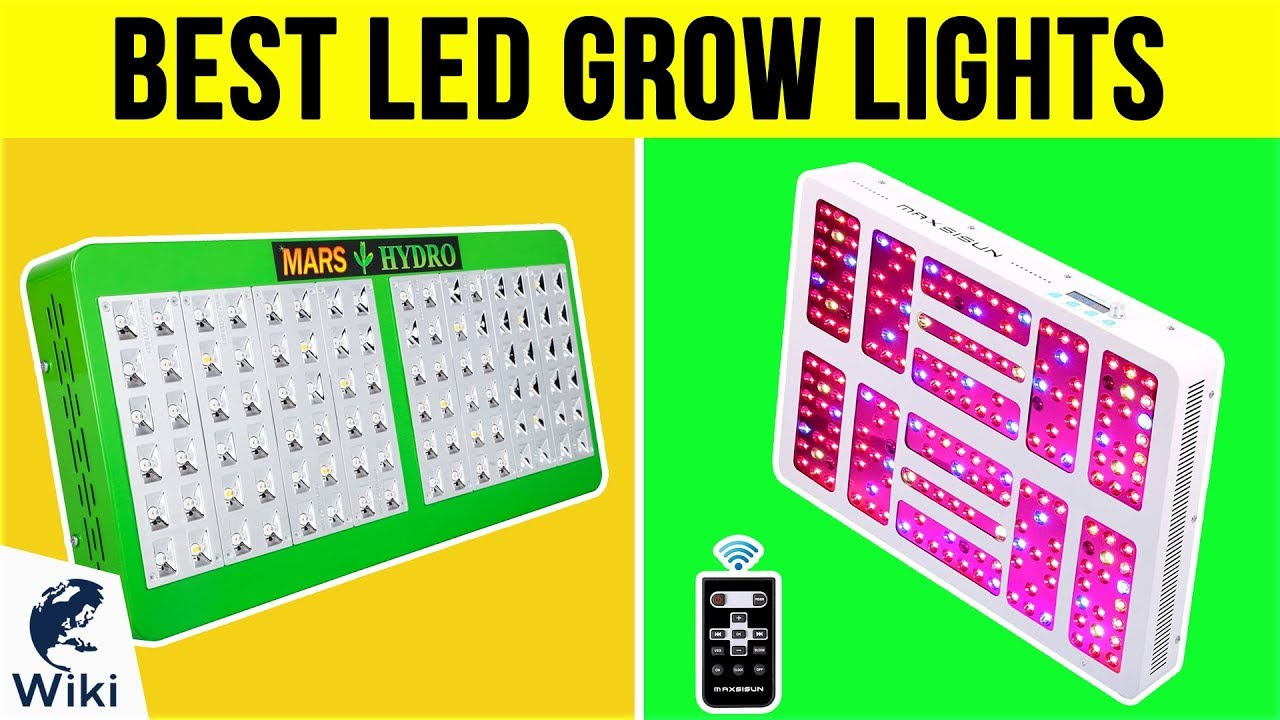 Top 10 LED Grow Lights of 2019 | Video Review