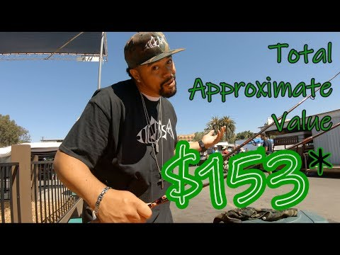 $40 Flea Market Fishing Challenge | ITGETSREEL Episode 20