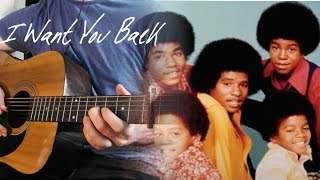 I Want You Back - The Jackson 5 | Instrumental Guitar Cover