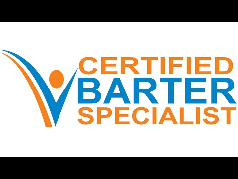 Certified Barter Specialist | Become A Barter Exchange Owner | www CertifiedBarterSpecialist com