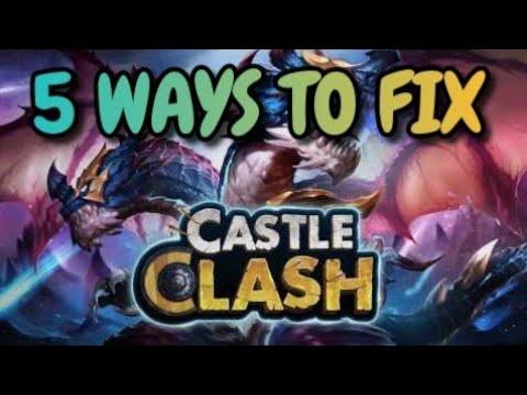 5 Ways To Fix Castle Clash