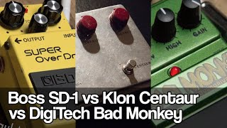 Boss SD-1, Klon Centaur and DigiTech Bad Monkey | all BEATLES tunes
