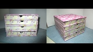 Diy: Rivoli Storage (jewelry Box) /mini Cassettiera