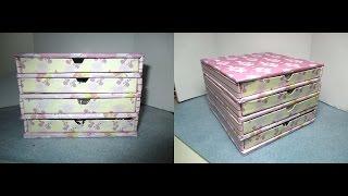 Diy: Rivoli Storage (jewelry Box) /mini Cassettiera