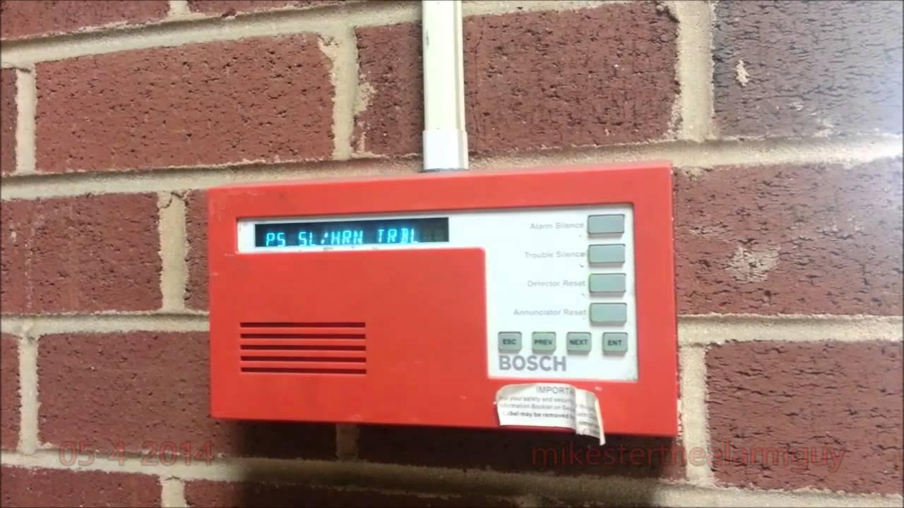 Bosch Fire Alarm Annunciator Beeping For Some Reason Youtube