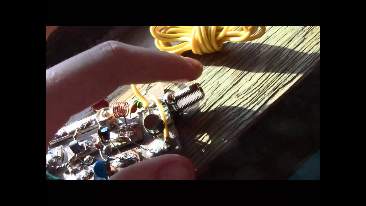 Excellent 3 Stage Fm Transmitter Youtube This Tx Is About The Simplest And Most Basic