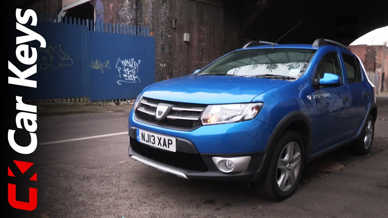 dacia sandero stepway 2014 review car keys youtube. Black Bedroom Furniture Sets. Home Design Ideas