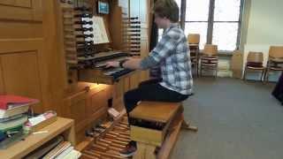 Trumpet Voluntary - Preiset froh den König - Jan Hendrik Pötter an der Orgel