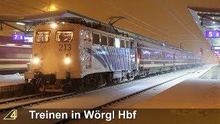 Treinen in Wörgl Hbf - 20 januari 2018