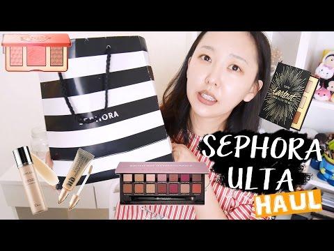 美國專櫃彩妝!! Sephora / Ulta試用心得+刷色 Try on HAUL!!!
