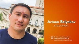 Зачем выбирать UT ESL? - Арман Белялов, Казахстан (на русском)