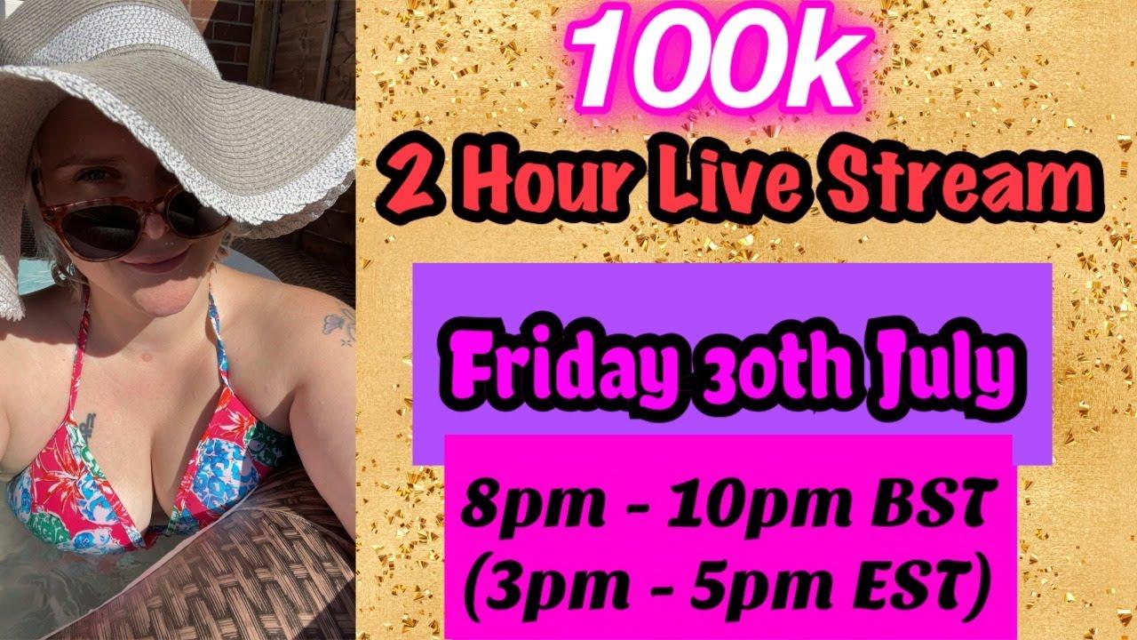 [ASMR] 100k Celebration Live Stream