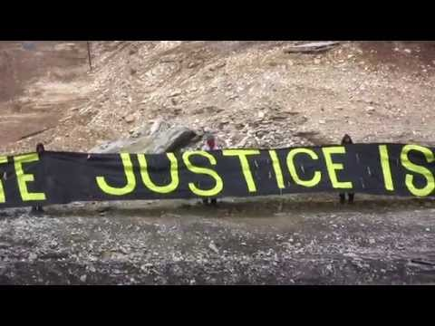Storm Brewing: Permanent Protest Setup At Proposed Tar Sands Strip Mine
