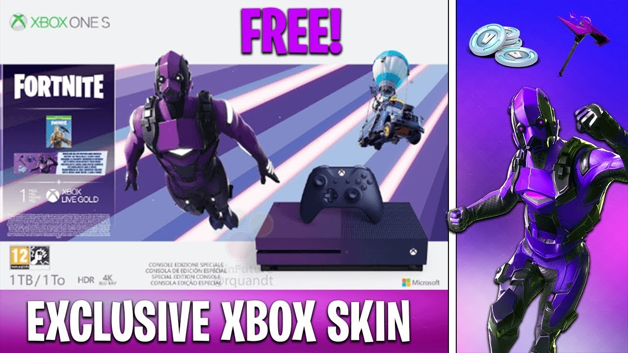 New Free Xbox Exclusive Skin In Fortnite Dark Vertex Bundle Youtube The fortnite video game is a purely digital title, meaning you'll need to download it fully from the xbox one's online storefront. new free xbox exclusive skin in fortnite dark vertex bundle