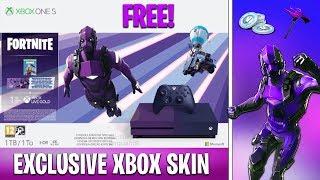 "New FREE ""XBOX EXCLUSIVE SKIN"" in Fortnite! (Dark Vertex Bundle)"