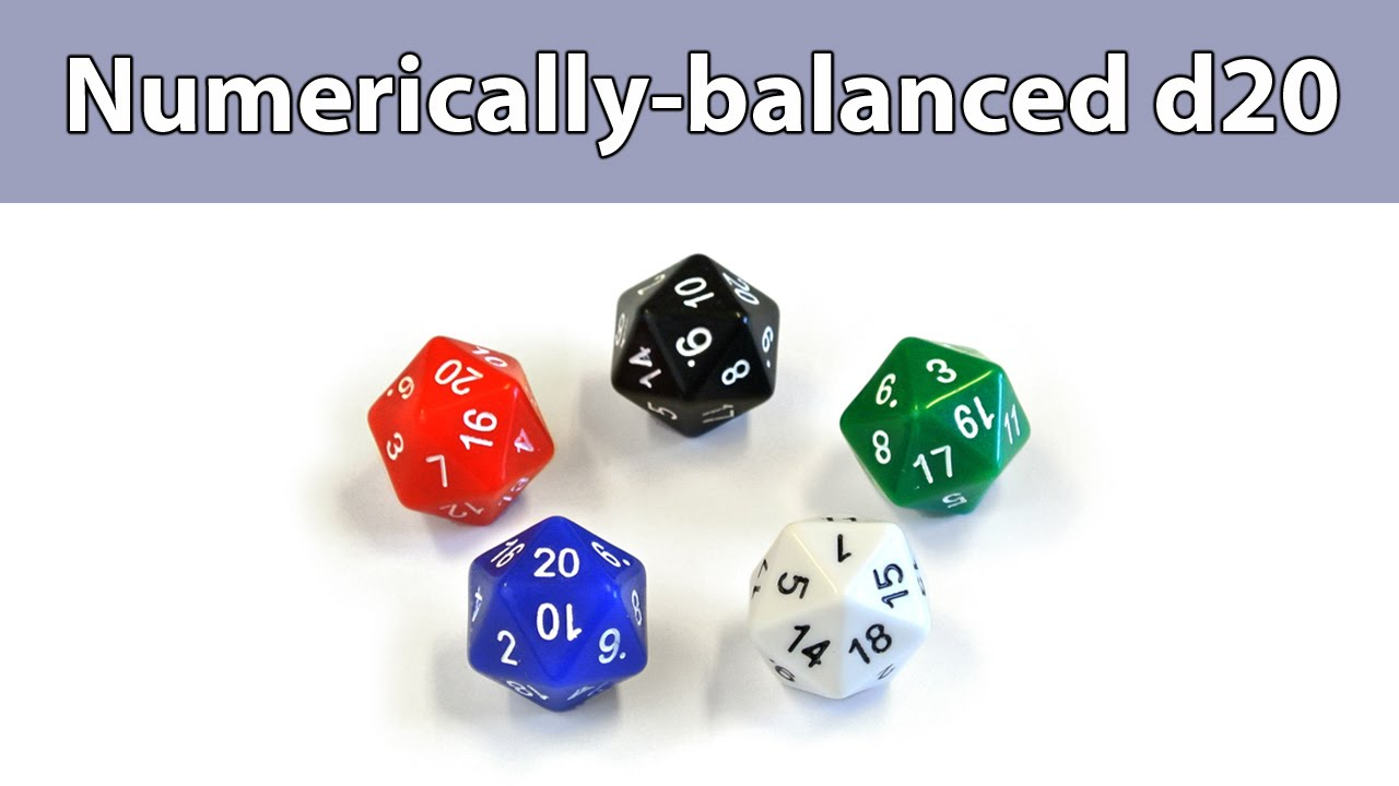 Image result for Numerically Balanced Dice