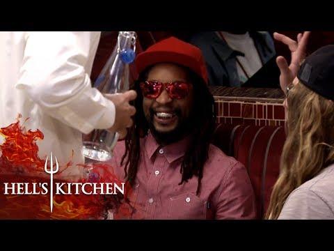 Lil Jon Eats At Hell's Kitchen! | Hell's Kitchen