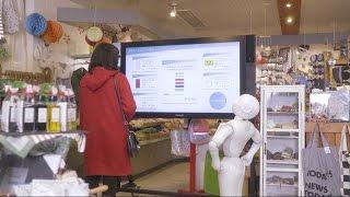 「Pepper meets Microsoft Azure 未来の商品棚」篇