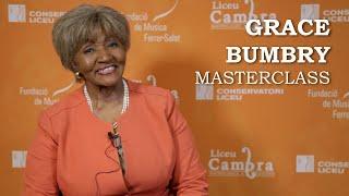 Masterclass amb Grace Bumbry - Liceu Cambra