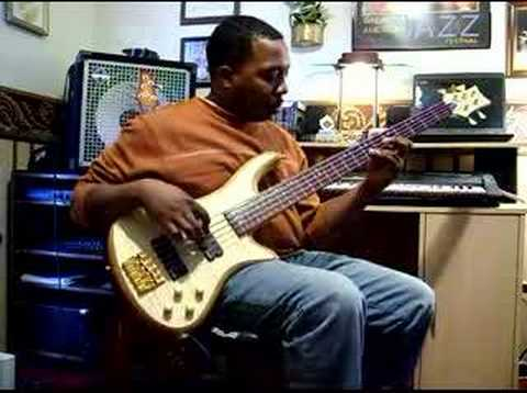 Ellis Gamble My Schecter Custom 5 Bass Guitar Groove Shed