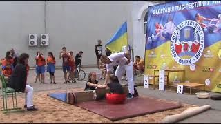 Чемпіонат України 2018 року,мас рестлінг Юнаки та юніори  Софіївка 3 частина