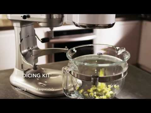 kitchenaid stand mixer food processor attachment reviews