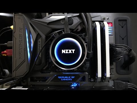 NZXT X62 Kraken AIO CPU Cooler - Review