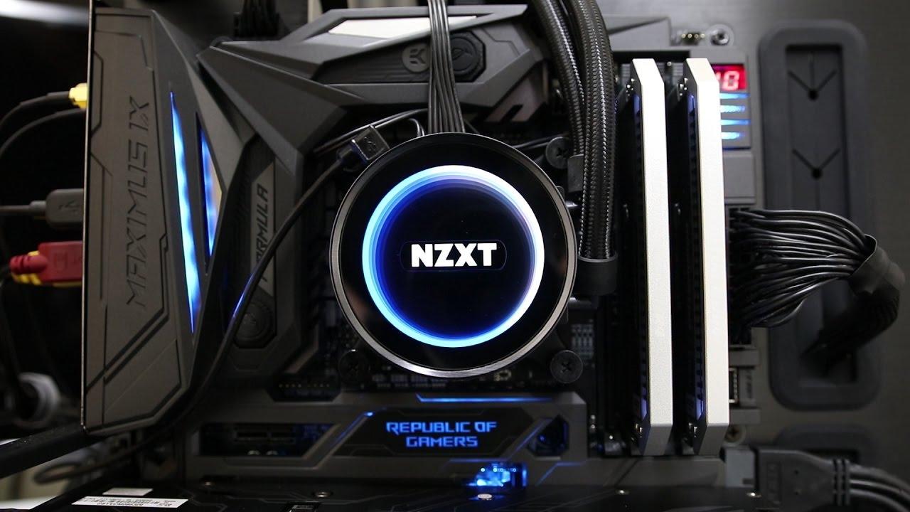 Nzxt X62 Kraken Aio Cpu Cooler Review Youtube