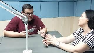 Entrevista à Rádio Assunção  _ Radialista Victor Inácio