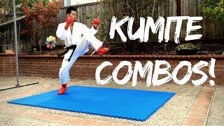 KARATE PRACTICE 002 Kumite Combos & Strategies by Jason Leung 2018