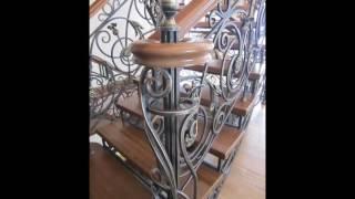 Кованая лестница в доме на заказ(, 2016-06-26T20:10:50.000Z)
